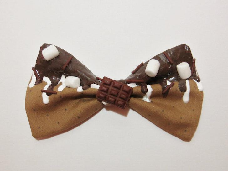 Campfire S'mores bow tie