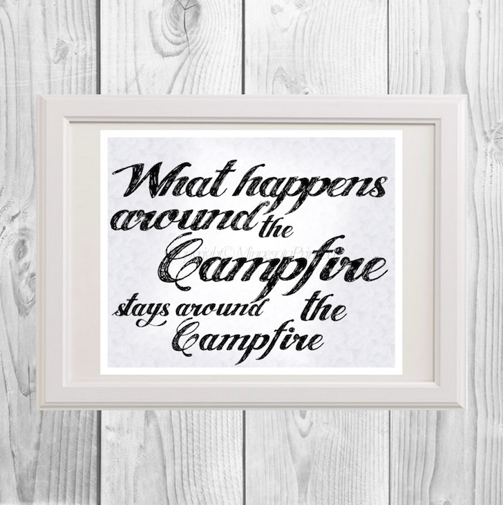Cute Downloadable Print For Your Special Camper