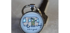 Life is Good key chain