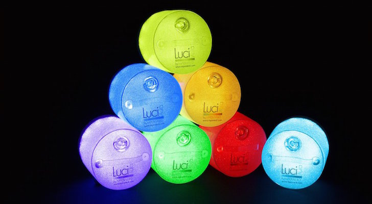 MPOWERD Luci Aura lights