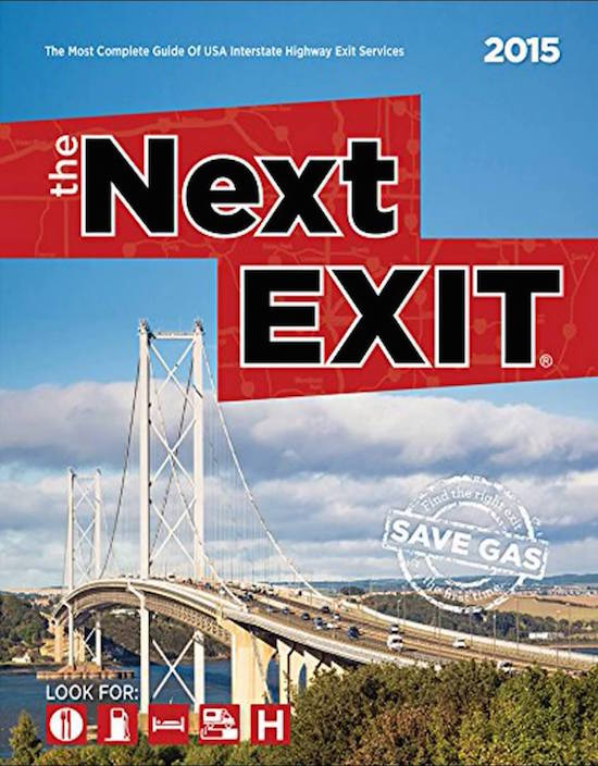 Next Exit interstate guide