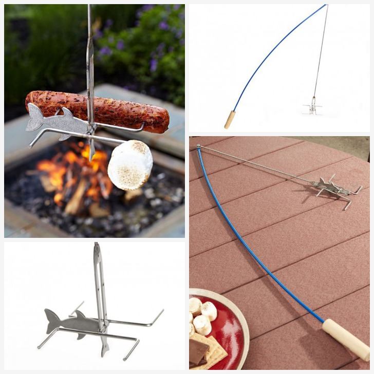 fire buggz fishing pole roaster for campfires