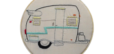 Shasta camper embroidery
