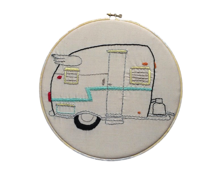 Shasta camper embroidery