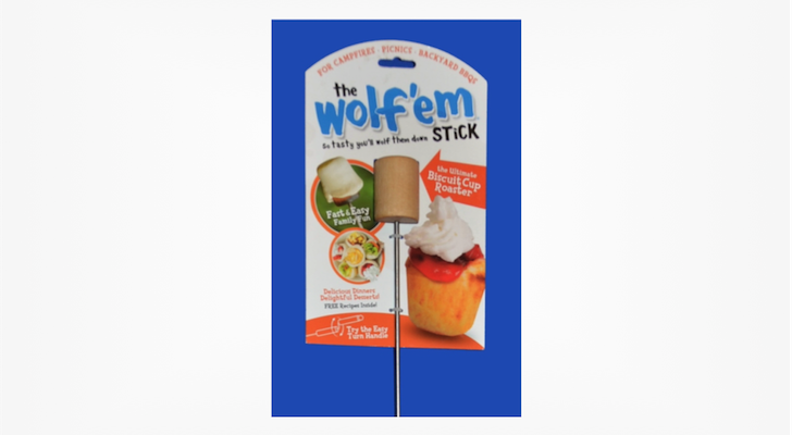 Wolf'em Stick Ultimate Biscuit Cup Roaster