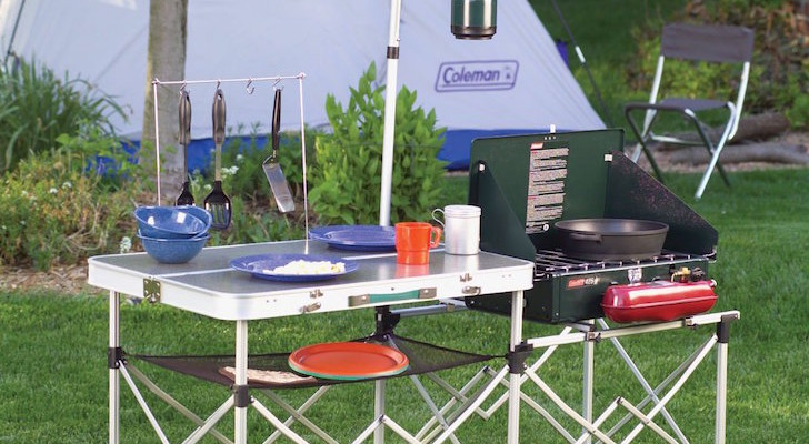 This Collapsible Outdoor Kitchen Looks Like A Toy, But Wow It Works