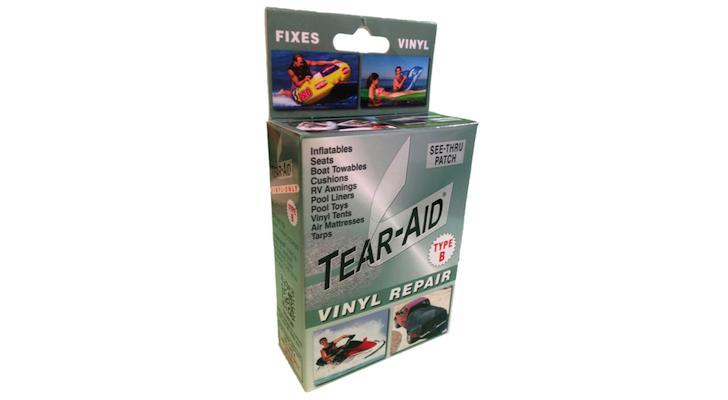 Tear Aid vinyl repair