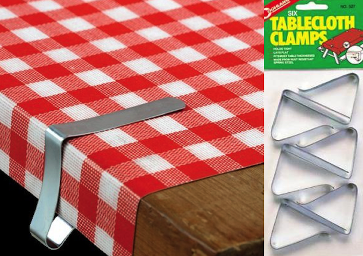 table cloth clamp