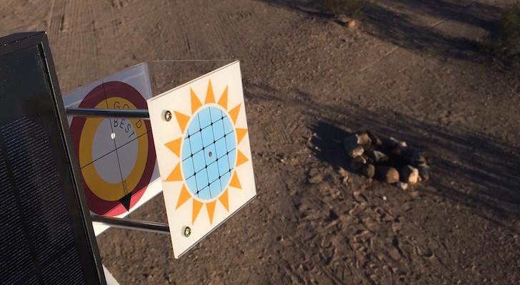 Manual sun tracker