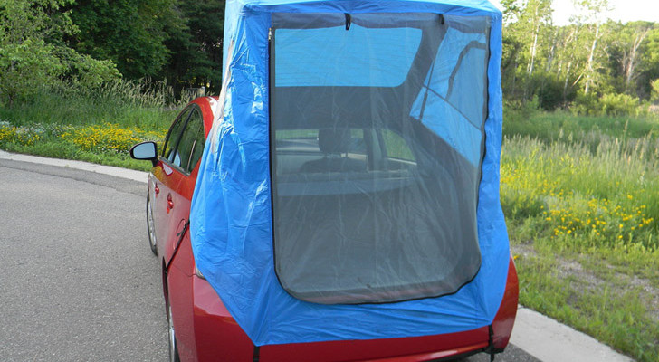 Custom Made Tent For Prius Car