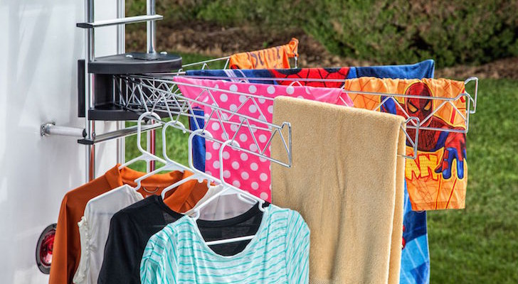 Dry Clothes With No Fuss - Stromberg Carlson Extend-A-Line Clothes Dryer